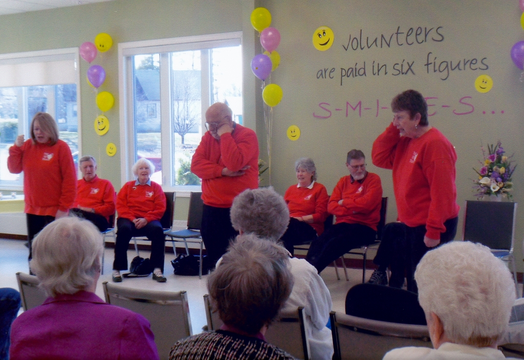 Family Crisis skit performed for Eganville Volunteer Appreciation in April 2013